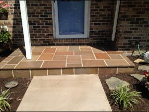 Front Porch Pavers