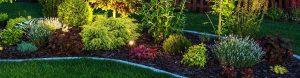 Outdoor Lighting Illuminated Garden by LED Lighting