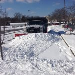 commercial Snow Removal plowing