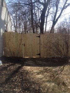 Wooden Fence 4