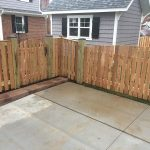 Wooden Decking Installation around driveway