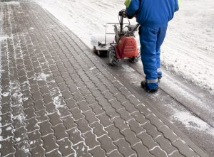 A professional snow removal team will help get your business operating again as soon as possible.