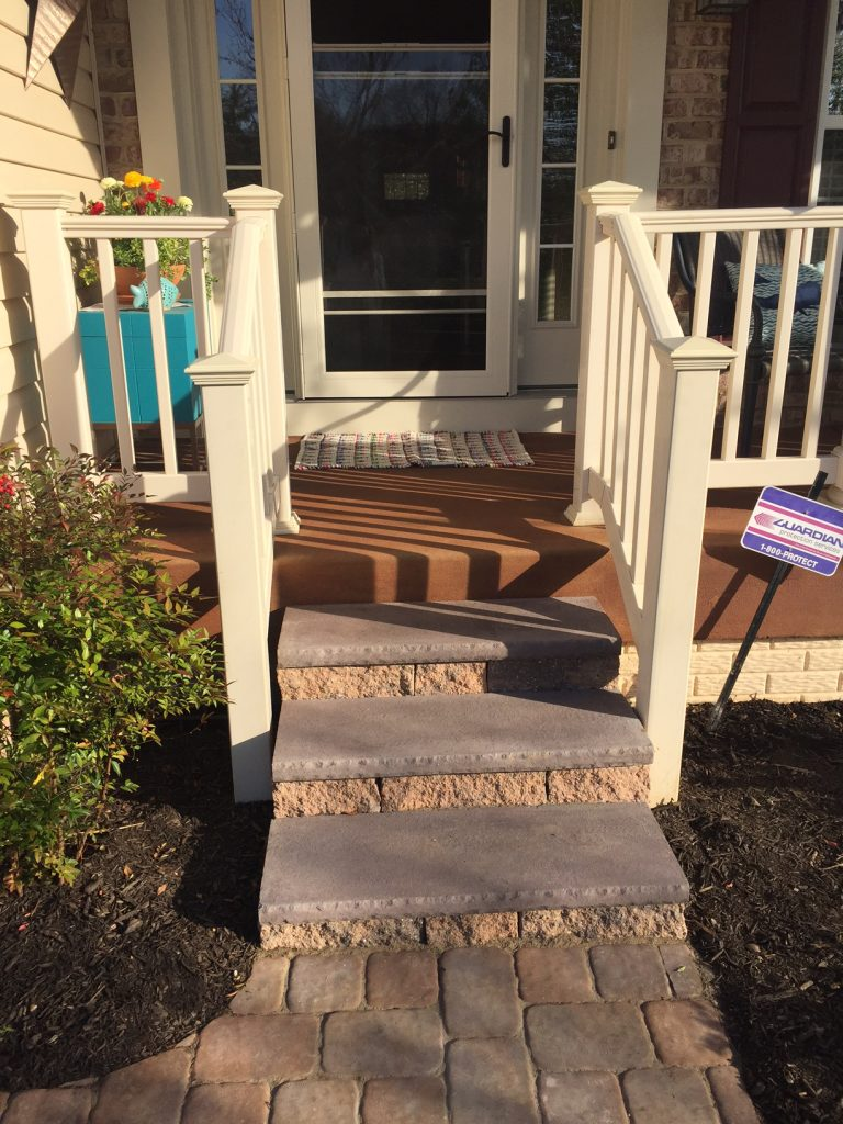 Front Porch Steps 2