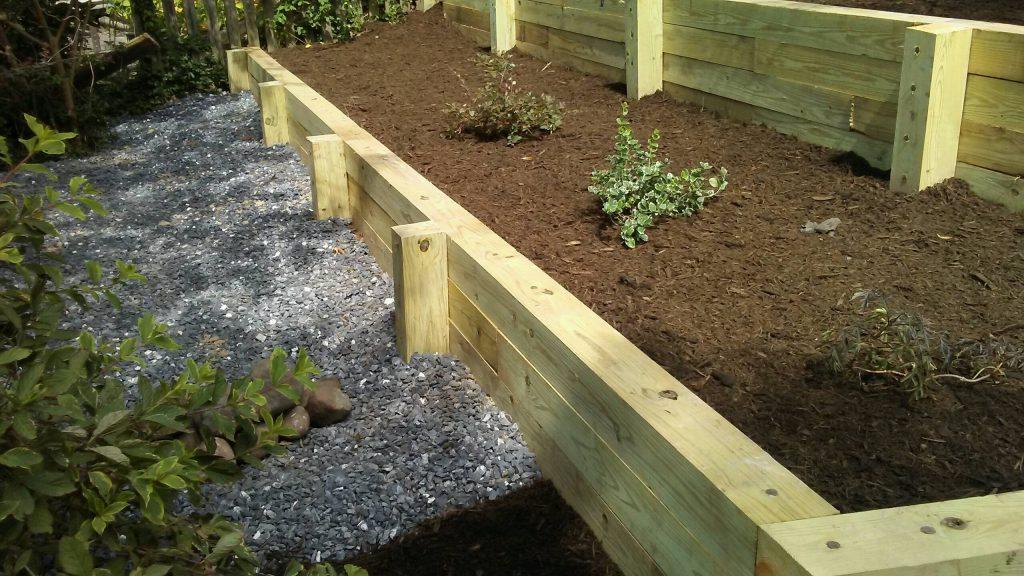 Garden Retaining Wall 1