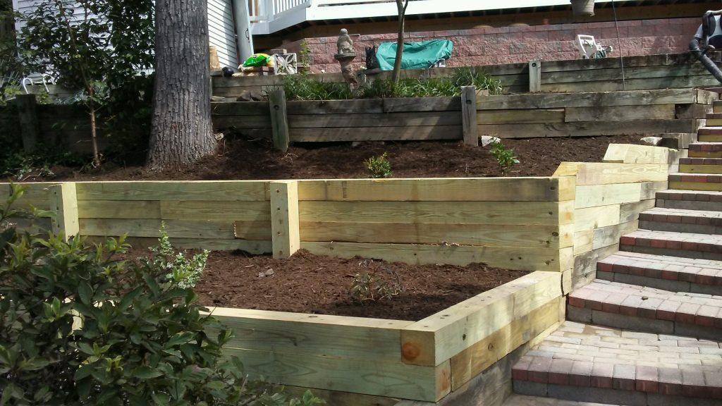 Garden Retaining Wall 2
