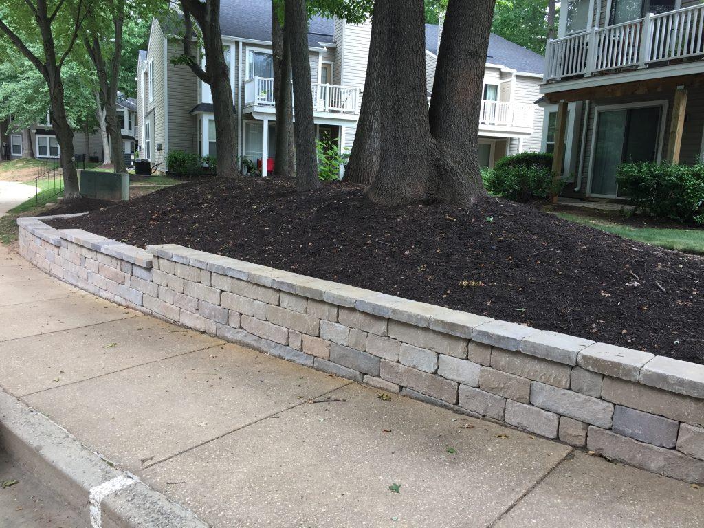 Garden Retaining Wall 4