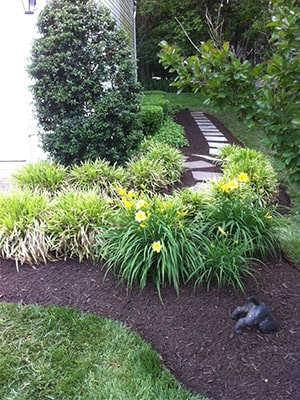 Residential Home Cleanup and Mulching